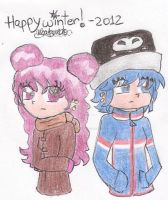 HHPAY - Happy winter 2012 /late by twinsisters7
