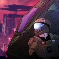 Halo reach: fall of new Alexandria by WinterSpectrum