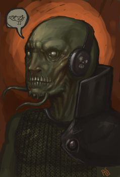 the orc listener by Draugth