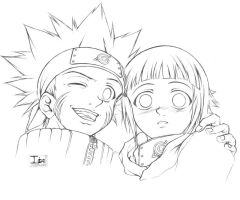 Naruto and Hinata by DarkChildx2k