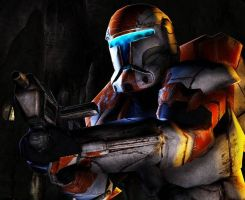 sw Republic commandos 38 boss by tehflyguy