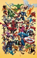 Marvel Poster by deffectx