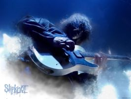 Jim Root Blue light by bengo-matus