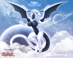 Lillian The Violet eyes Fusion Dragoness_complete by wsache007