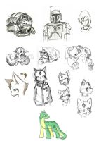 Sketchdump 130311 By Utao by Utao