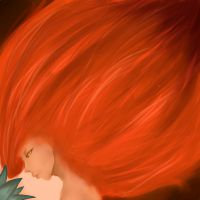 Fire Flower by Sempi-Is-An-Angel