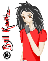 Bill Kaulitz by Sanlya-Sowija