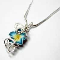 Tropical Perfume Pendant by Create-A-Pendant