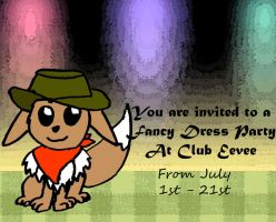 Club Eevee Contest Entry by Fuzzbyroo