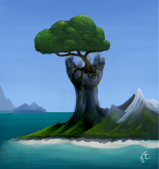 Landscape Practice by TheSevenDemon