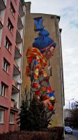 Sainer Mural Poland by dylonji