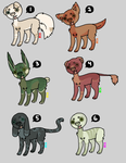 Pup Adopts(3/5 open) by dracolian