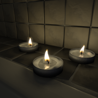 Candle Bath - WIP by FengL0ng