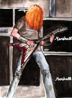 Dave Mustaine by brainteaserphotos