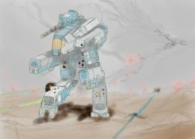 Battletech - Marauder: take II by Dannyp96
