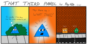 That Third Panel - More Friends #4 by Roy4242