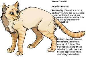 Kendell by StoryMaker91