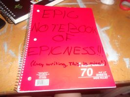 EPIC NOTEBOOK OF EPICNESS! (Lucy List) by JediSkygirl
