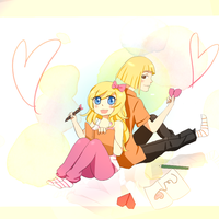 Request 2: Artful love by Moutonmou