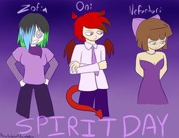 Look! My OCs are Participating Too! by Blaisie