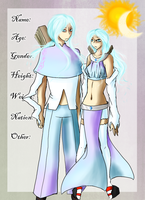 Wind Nation: Isolde and Ione by KumoSama