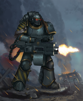 Iron warriors - Iron Havoc by Advisorium