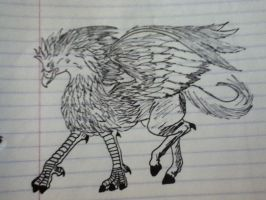 griffin by v-is-a-beast