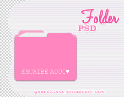 Folder PSD by yoaeditions