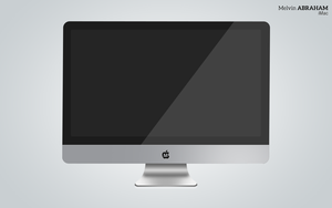 Realistic iMac Made from scratch by micro100