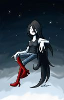 Marceline the Vampire Queen v. II by Ehnker