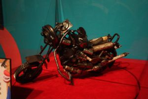 Ripley's: Small motorcycle by KW-stock