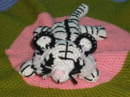 White Tiger Amigurumi by ShadowOrder7
