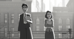 Paperman/X Files by Super-Cute