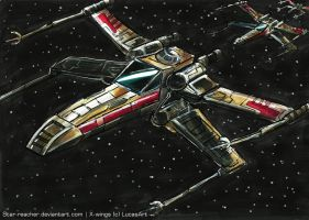 X-wings by Star-Reacher