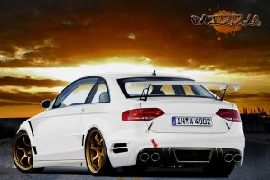 Audi A4 Rear by Drizzle69