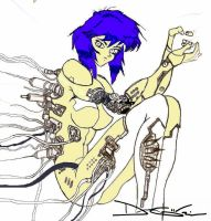 Ghost in the Shell by yume-ninja