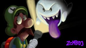 Wii U Sketchpad: Luigi's Mansion by ZombiDJ