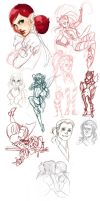 Sketch Dump 120811 by lauren-bennett