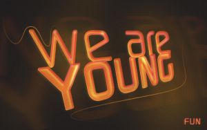 FUN- WE ARE YOUNG by HallzAddict