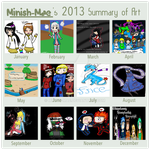 2013 Summary of Art by Minish-Mae