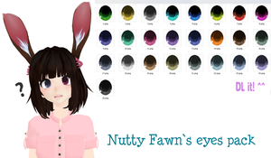 MMD Fawn`s eyes texture DL by NuttyFawn