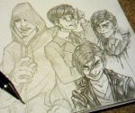 The Amazing Spiderman Sketches by Redundantthoughts