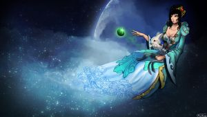 Chang'e by Kuckyz