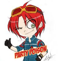 Killjoys Rush: Party Poison by Eilyn-Chan