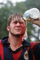 Blood and Rugby by brettspics