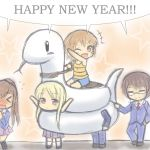 Happy New Year !!!! by GreenTeaNeko