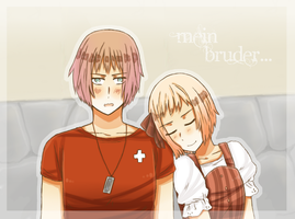 [Contest] - Neutral Siblings by Shiunee