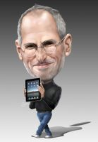 Steve Jobs by JohnLaw82