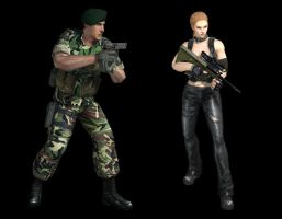 Delta force and SRG by TakeTheBang