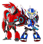 .:Sideswipe and Strongarm:. by JACKSPICERCHASE